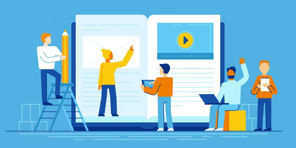 Noen syns det er vanskelig å vite forskjell på ord og uttrykk når det kommer til digitale læremidler. Foto: iStock